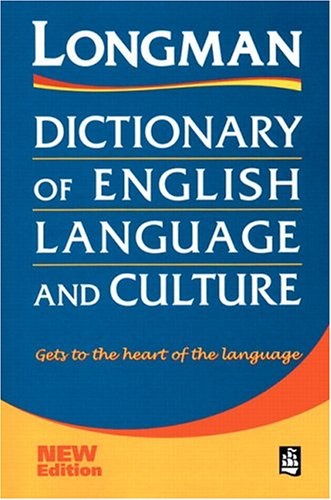 9780582302037: Dictionary english language and culture