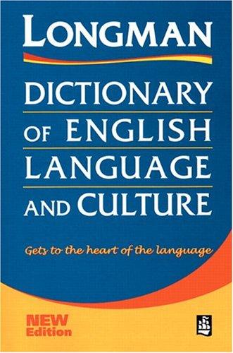 Longman Dictionary of English Language and Culture: Longman