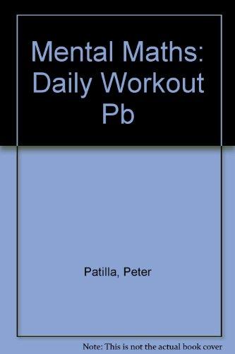 9780582303553: Mental Maths Daily Workout Year 2 Mental Maths 1