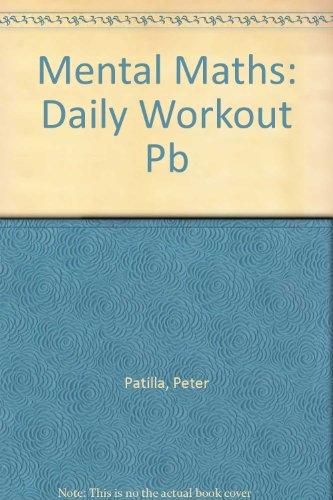 9780582303584: Mental Maths Daily Workout Year 5 Mental Maths 4