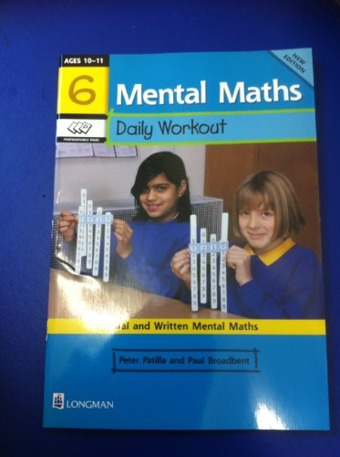 9780582303591: Mental Maths Daily Workout: Year 6
