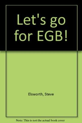 9780582303966: Let's go for EGB!