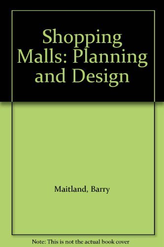 9780582305250: Shopping Malls: Planning and Design