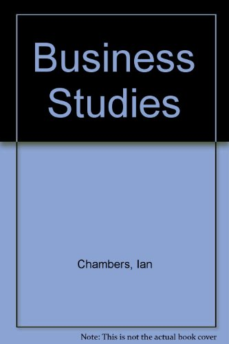 9780582309029: Business Studies