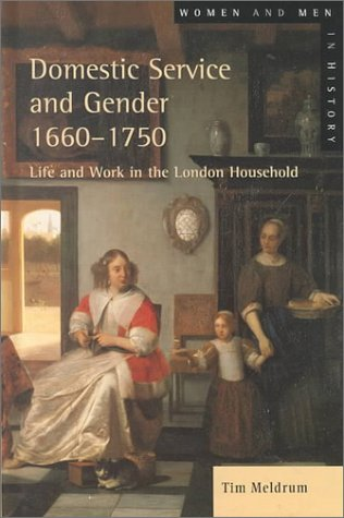 9780582312074: Domestic Service and Gender, 1660-1750 (Women and Men in History)