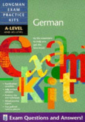 9780582312470: Longman Exam Practice Kits: A-level German