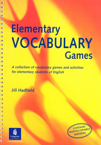 9780582312708: Elementary Vocabulary Games Teachers Resource Book (Methodology Games)