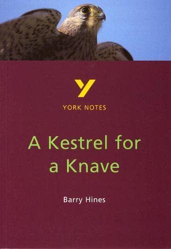 9780582314023: A Kestrel for a Knave (York Notes)