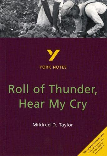 9780582314559: Roll of Thunder, Hear My Cry (2nd Edition) (York Notes)