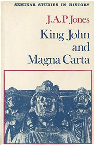 9780582314634: King John and Magna Carta (Seminar Studies in History)