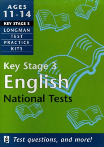 9780582315730: English: Key Stage 3 (Longman Exam Practice Kits)