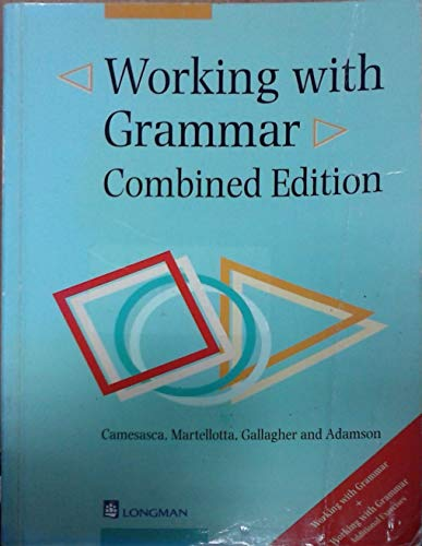 9780582316058: Working with grammar combined. Combined edition. Per le Scuole superiori