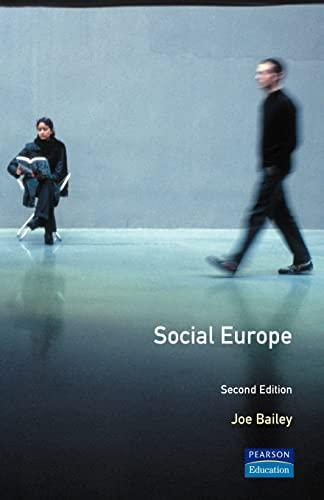 9780582316096: Social Europe (Longman Sociology Series)