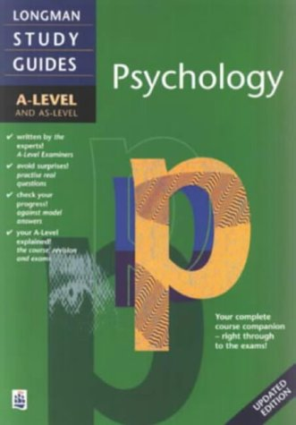 9780582316553: Longman A-level Study Guide: Psychology updated edition ('A' LEVEL STUDY GUIDES)