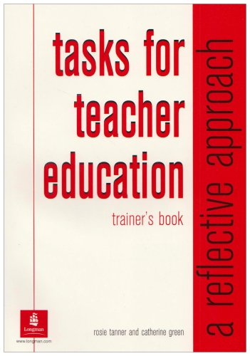 9780582316645: Tasks for Teacher Education (Trainers Book)