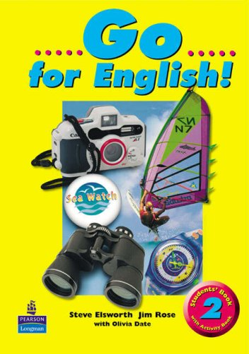 9780582317284: Go for English! Students Book 2 Split Edition with ABk combined