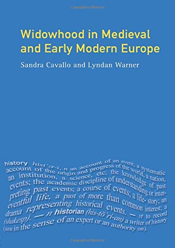 9780582317482: Widowhood in Medieval and Early Modern Europe (Women And Men In History)
