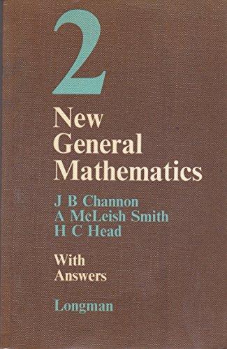 9780582318434: New General Mathematics: w.ans Bk. 2