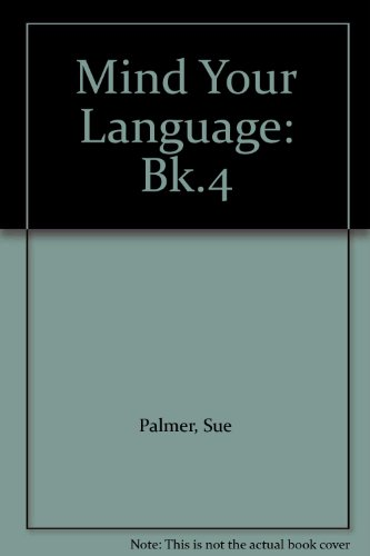 9780582319509: Mind Your Language: Bk.4