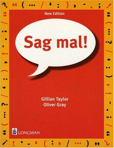 9780582319585: Sag Mal Paper, 2nd. Edition