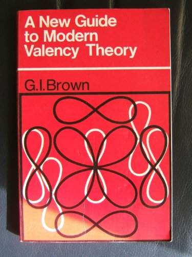 9780582321090: New Guide to Modern Valency Theory