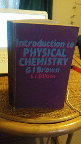 9780582321311: Introduction to Physical Chemistry