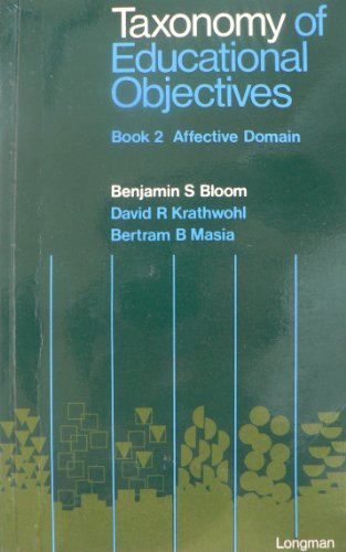 9780582323872: Taxonomy of Educational Objectives: Handbook 2