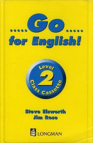 9780582325081: Go for English!: Cassette 2