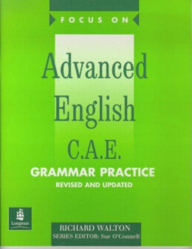 9780582325715: Focus on Advanced English: C.A.E. (Grammar Practice)
