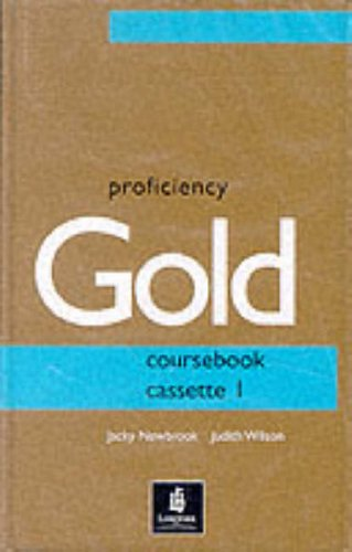 9780582325777: Proficiency Gold: Course cassette 1-2 (PRGO)