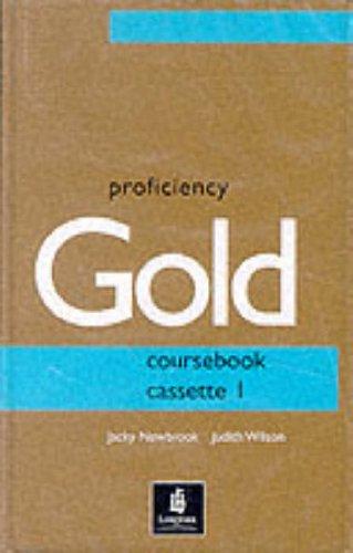 9780582325777: Proficiency Gold: Course cassette 1-2