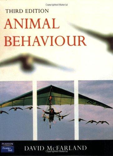 9780582327320: Animal Behaviour: Psychobiology, Ethology and Evolution
