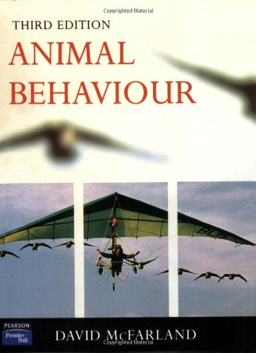 9780582327320: Animal Behaviour: Psychobiology, Ethology and Evolution (3rd Edition)