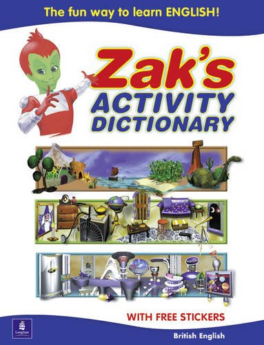 9780582327948: Zak's Activity Dictionary British English Edition (Zaks Wordgames)