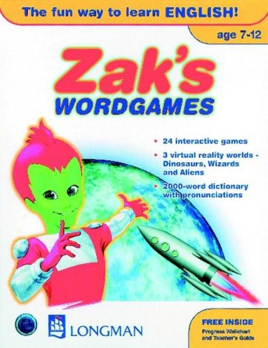 9780582327955: Zak's Wordgames: American English - CD-Rom