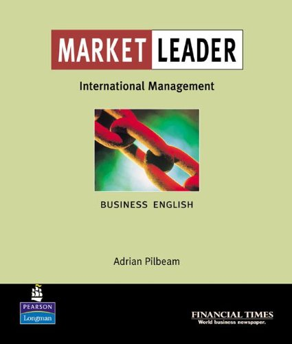 9780582328419: Market Leader:Business English with The Financial Times In International Management