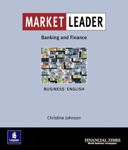 9780582328433: Market Leader. Banking and Finance: Intermediate Level: Business English with the