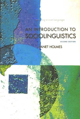 9780582328617: An Introduction to Sociolinguistics