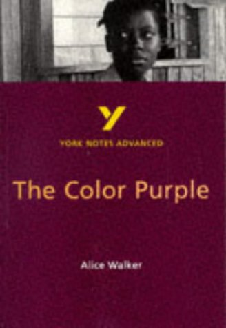 9780582329096: THE COLOR PURPLE (York Notes)