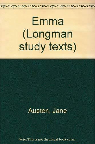 9780582331532: Emma (Longman study texts)