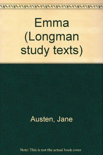 Emma (Longman study texts)