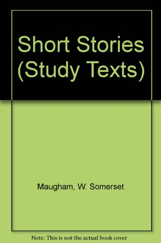 9780582331877: Short Stories (Study Texts)