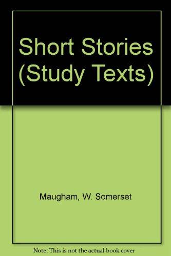 9780582331877: Short Stories (Study Texts)