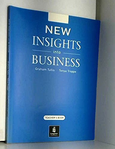 9780582335561: New Insights Into Business Teacher's Book
