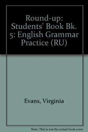 9780582337855: Round-up: Students' Book Bk. 5: English Grammar Practice (RU)