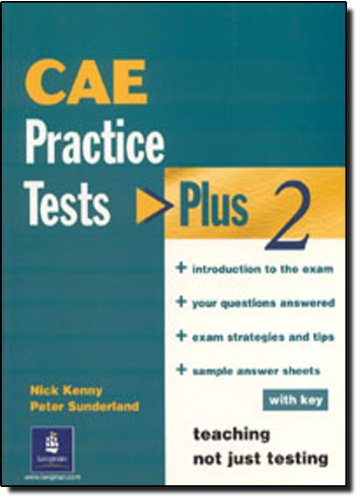 9780582337985: Practice Tests: Plus 2 CAE (Certificate Advanced English)