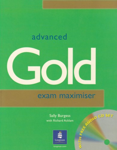 9780582338012: Cae Gold: Maximiser without Key (Certificate advanced English)