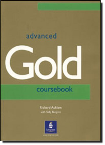 9780582338043: Advanced Gold. Coursebook: English CAE
