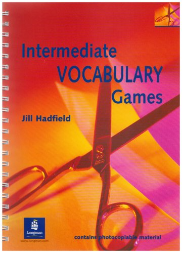 9780582339309: Intermediate Vocabulary Games Teachers Resource Book (Methodology Games)