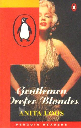 9780582342828: Gentlemen Prefer Blondes: Book and Cassette Pack (Penguin Readers: Level 2 Series)